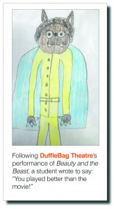 DuffleBag Theatre drawing prologue.org