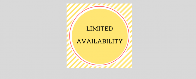 Limited Availability Shows
