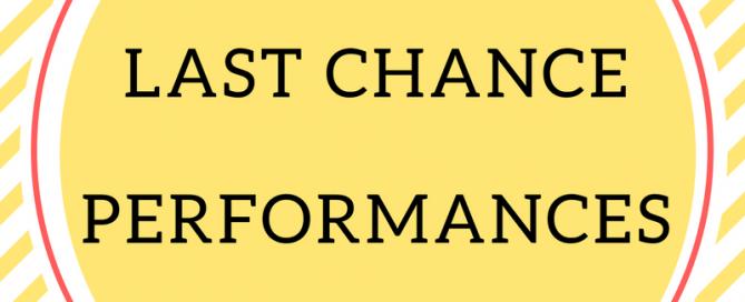 LAST CHANCE PERFS